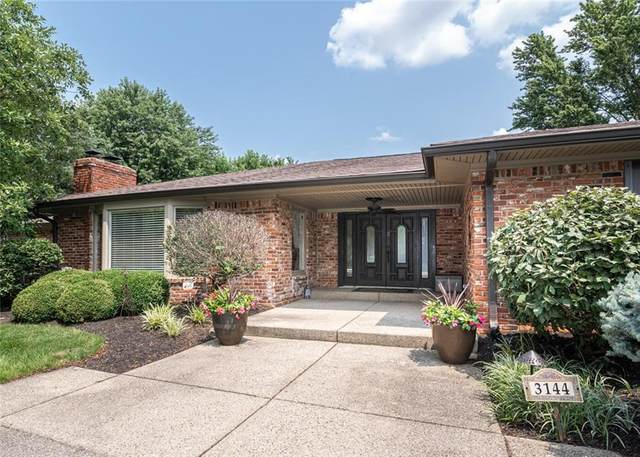 3144 Fairway Drive, Carmel, IN 46032 (MLS #21800409) :: Mike Price Realty Team - RE/MAX Centerstone