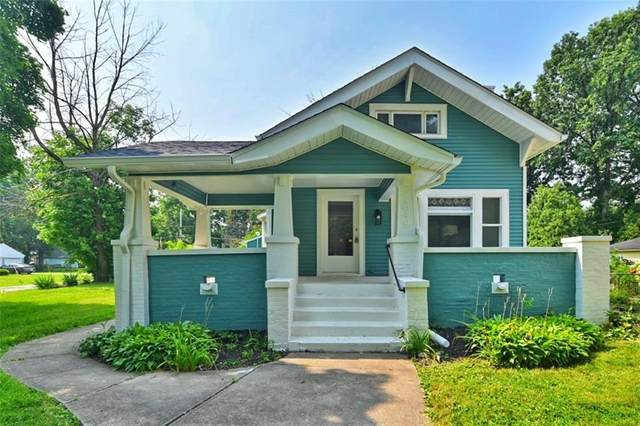 5849 Beechwood Avenue, Indianapolis, IN 46219 (MLS #21800494) :: The Indy Property Source