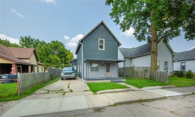 1024 W 13th Street, Anderson, IN 46016 (MLS #21800547) :: The Indy Property Source