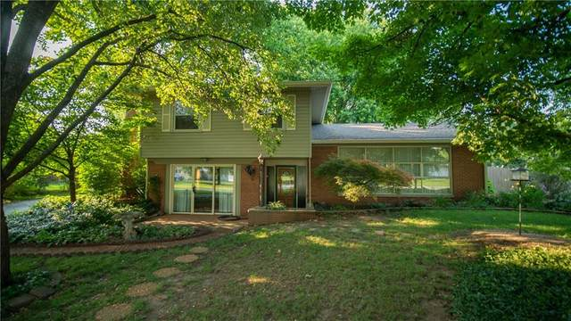 1120 Weber Drive, Indianapolis, IN 46227 (MLS #21800563) :: The Indy Property Source