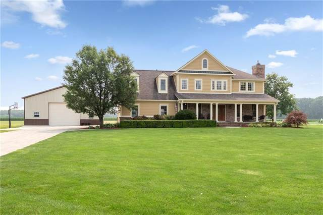10549 N 50 W, Fortville, IN 46040 (MLS #21800592) :: Mike Price Realty Team - RE/MAX Centerstone