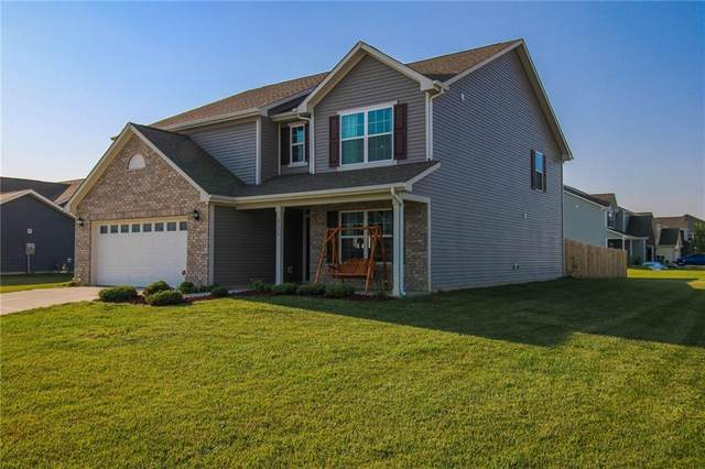8170 Brookville Way, Avon, IN 46123 (MLS #21800615) :: Mike Price Realty Team - RE/MAX Centerstone