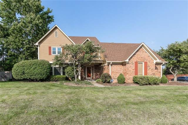 14437 Howe Drive, Carmel, IN 46032 (MLS #21800631) :: The Indy Property Source