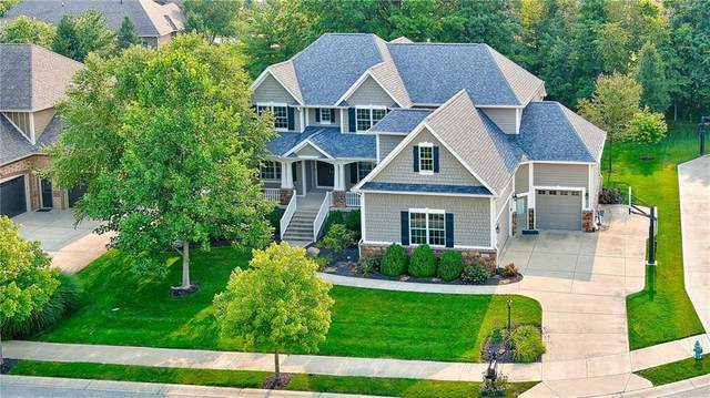 10001 Forest Meadow Circle, Fishers, IN 46040 (MLS #21800667) :: AR/haus Group Realty