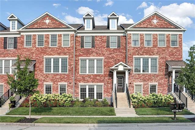 12848 Bird Cage Walk, Carmel, IN 46032 (MLS #21800727) :: The Indy Property Source