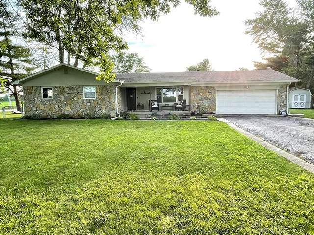 6974 S County Road 400 E, Clayton, IN 46118 (MLS #21800796) :: The Indy Property Source