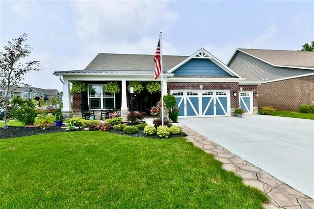 6112 Burgin Drive, Whitestown, IN 46075 (MLS #21800883) :: Mike Price Realty Team - RE/MAX Centerstone