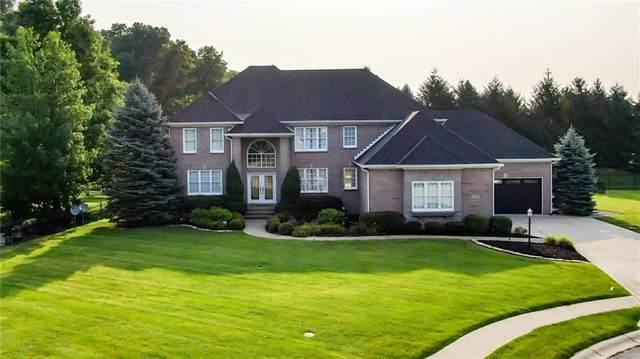 10608 Geist Ridge Court, Fishers, IN 46040 (MLS #21800904) :: Heard Real Estate Team | eXp Realty, LLC
