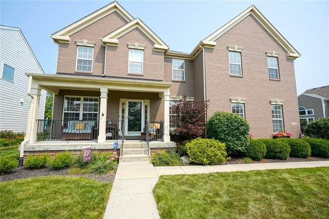 12863 Walbeck Drive, Fishers, IN 46037 (MLS #21800906) :: AR/haus Group Realty