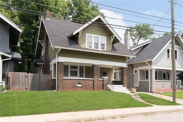 906 E 42nd Street, Indianapolis, IN 46205 (MLS #21800907) :: Mike Price Realty Team - RE/MAX Centerstone