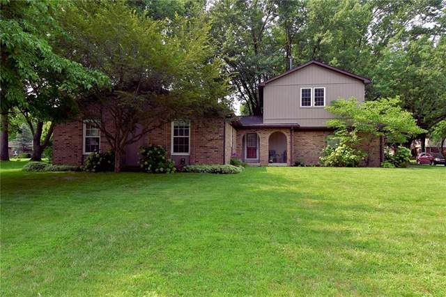 8655 Chapel Glen Drive, Indianapolis, IN 46234 (MLS #21800961) :: Mike Price Realty Team - RE/MAX Centerstone