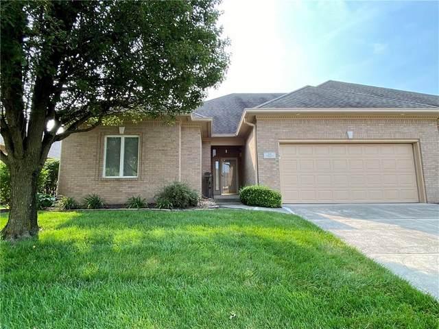 1421 Heron Ridge Boulevard, Greenwood, IN 46143 (MLS #21800984) :: AR/haus Group Realty