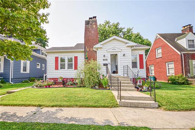 603 W Fifth St., Seymour, IN 47274 (MLS #21801013) :: AR/haus Group Realty