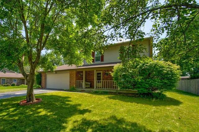 305 Sunblest Blvd South Drive, Fishers, IN 46038 (MLS #21801027) :: The Indy Property Source