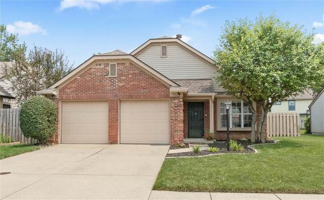 9712 Pine Ridge East Drive, Fishers, IN 46038 (MLS #21801033) :: Mike Price Realty Team - RE/MAX Centerstone