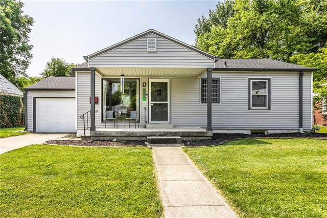 5164 E Atherton South Drive, Indianapolis, IN 46219 (MLS #21801061) :: The Indy Property Source