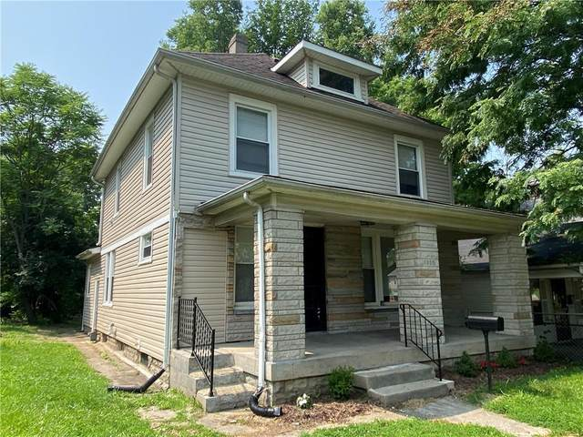 1055 W 33RD Street, Indianapolis, IN 46208 (MLS #21801068) :: The Indy Property Source