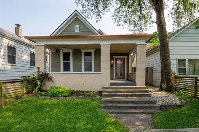 1225 Fletcher Avenue, Indianapolis, IN 46203 (MLS #21801086) :: AR/haus Group Realty