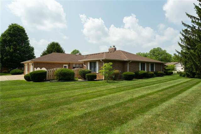 4 Marywood Drive, Greenfield, IN 46140 (MLS #21801093) :: The Indy Property Source