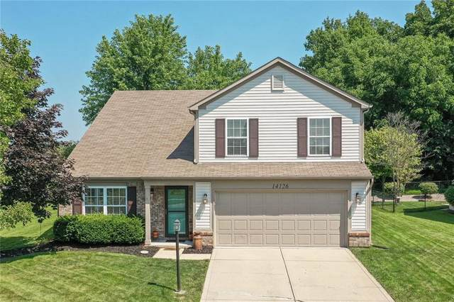 14126 Stonewood Place, Fishers, IN 46038 (MLS #21801154) :: The Evelo Team