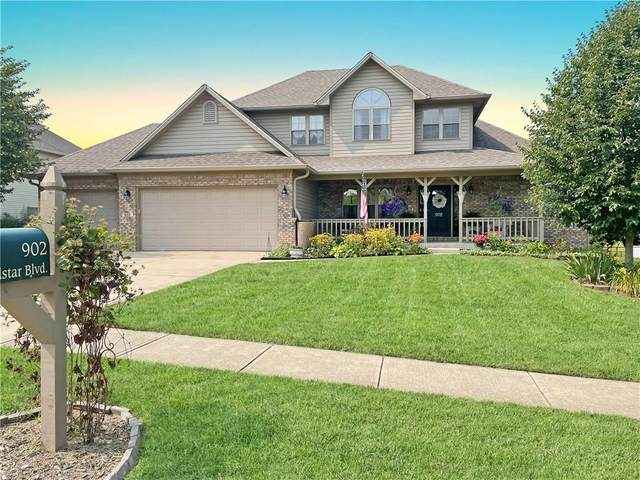 902 Windstar Boulevard, Franklin, IN 46131 (MLS #21801164) :: The Indy Property Source