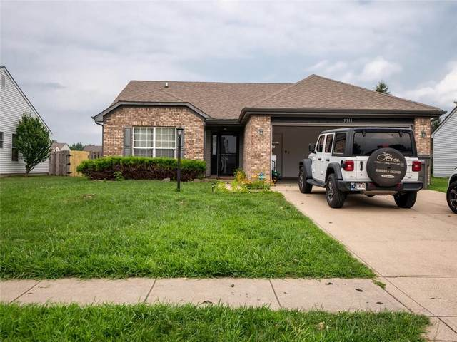 5311 Thompson Park Boulevard, Indianapolis, IN 46237 (MLS #21801169) :: Mike Price Realty Team - RE/MAX Centerstone