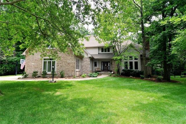 7569 Ballinshire S, Indianapolis, IN 46254 (MLS #21801176) :: Mike Price Realty Team - RE/MAX Centerstone