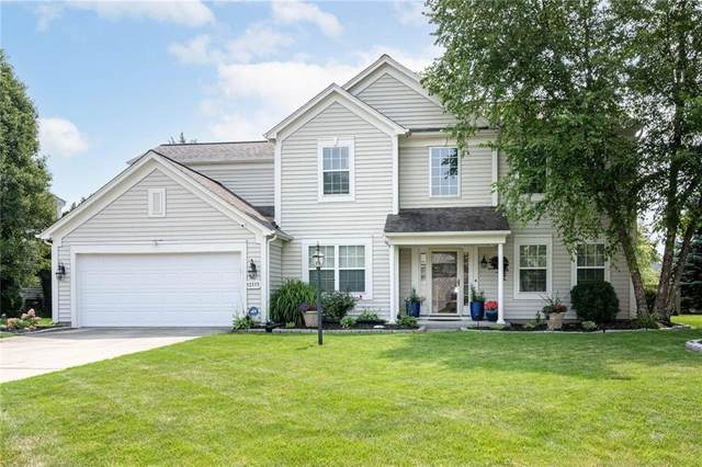 12115 Flagstone Drive, Fishers, IN 46037 (MLS #21801184) :: AR/haus Group Realty