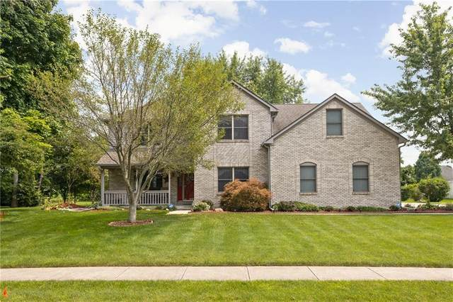 451 Woodland Place, Pittsboro, IN 46167 (MLS #21801193) :: Pennington Realty Team
