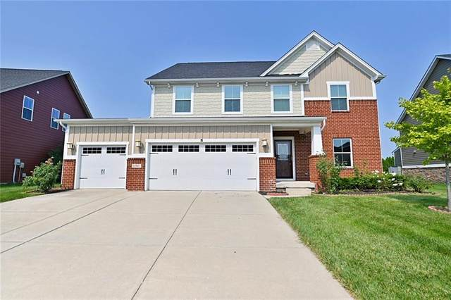 11946 Mannings Pass, Zionsville, IN 46077 (MLS #21801220) :: Heard Real Estate Team   eXp Realty, LLC