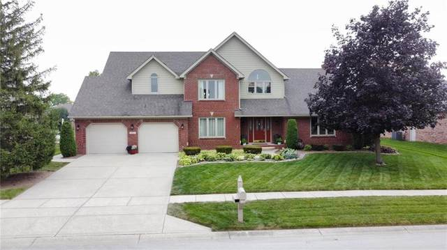3657 Lakeshore Court, Greenwood, IN 46143 (MLS #21801424) :: The Indy Property Source