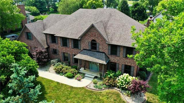 3891 Atherton Lane, Greenwood, IN 46143 (MLS #21801483) :: The Indy Property Source