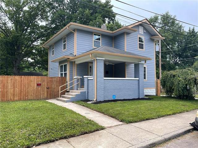 2517 E 13th Street, Indianapolis, IN 46201 (MLS #21801504) :: Pennington Realty Team