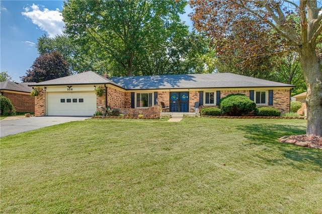 508 Lansdowne Road, Indianapolis, IN 46234 (MLS #21801545) :: Mike Price Realty Team - RE/MAX Centerstone