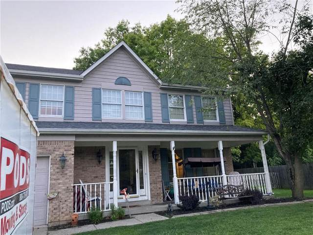 8420 Brittany Court S, Indianapolis, IN 46236 (MLS #21801627) :: The Indy Property Source