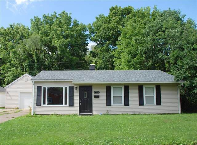 4440 W 36th Street, Indianapolis, IN 46222 (MLS #21801659) :: Dean Wagner Realtors
