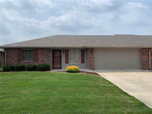 157 Saratoga Way, Anderson, IN 46013 (MLS #21801661) :: The Evelo Team