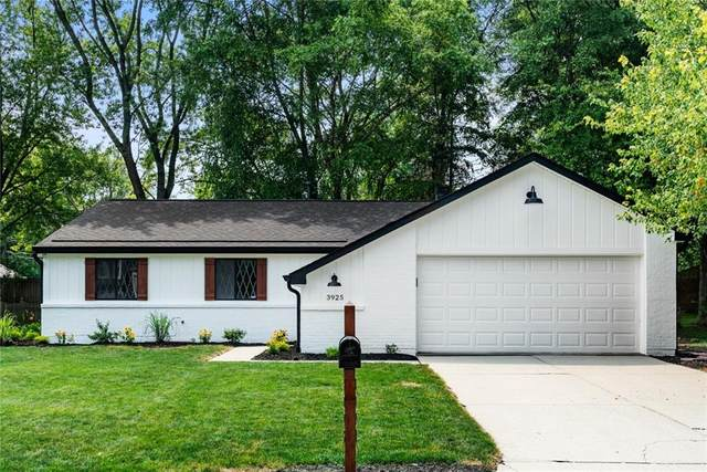 3925 Pebble Creek Drive, Indianapolis, IN 46268 (MLS #21801674) :: Mike Price Realty Team - RE/MAX Centerstone