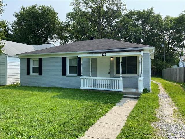 1727 N Coolidge Avenue, Indianapolis, IN 46219 (MLS #21801688) :: The Evelo Team