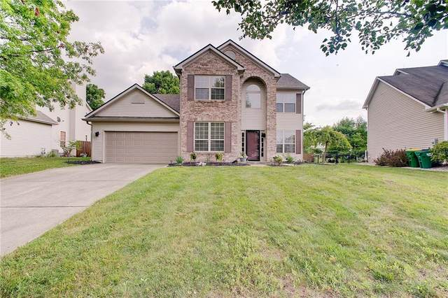 10116 Hawks Lake Drive, Fishers, IN 46037 (MLS #21801724) :: Mike Price Realty Team - RE/MAX Centerstone