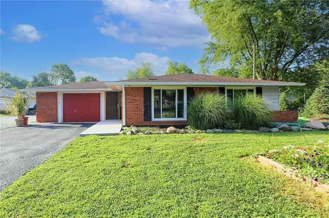 1255 Easy Street, Greenwood, IN 46142 (MLS #21801789) :: David Brenton's Team