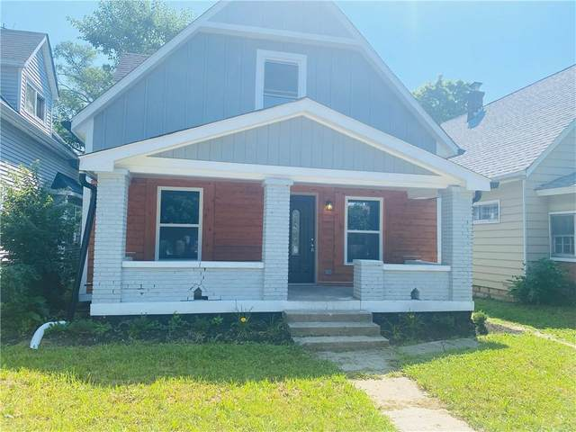 937 N Oxford Street, Indianapolis, IN 46201 (MLS #21801795) :: Mike Price Realty Team - RE/MAX Centerstone