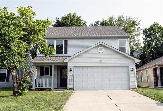 6834 Glenn Meade Drive, Indianapolis, IN 46241 (MLS #21801825) :: The Indy Property Source