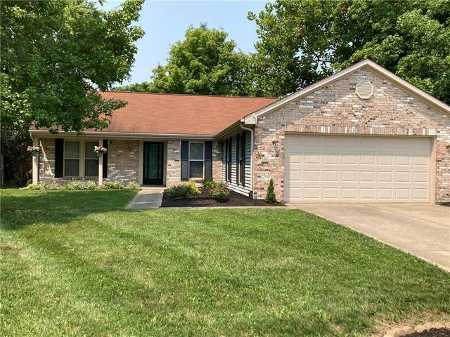 7504 Iron Horse Lane, Indianapolis, IN 46256 (MLS #21801827) :: The Indy Property Source