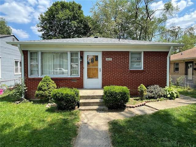 1817 N Livingston, Indianapolis, IN 46222 (MLS #21801829) :: The Indy Property Source