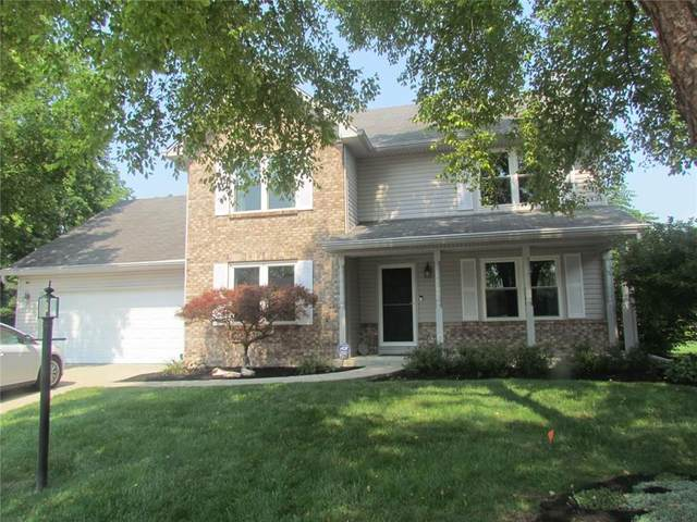 17917 Amberwood Court, Westfield, IN 46074 (MLS #21801833) :: The Indy Property Source