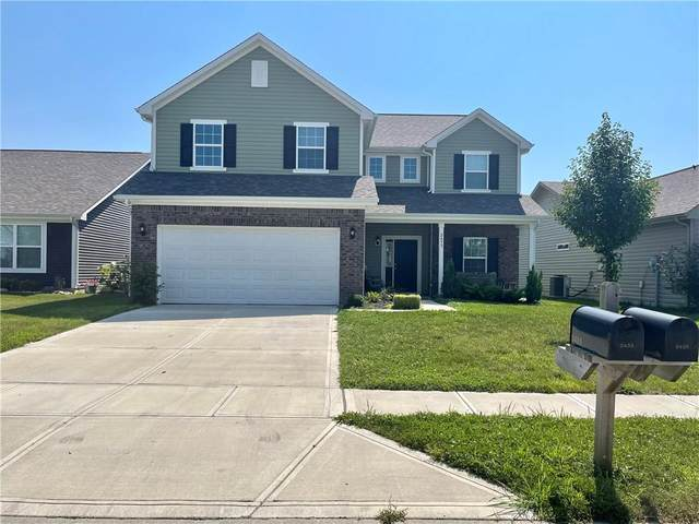 2433 Bristol Drive, Franklin, IN 46131 (MLS #21801867) :: Mike Price Realty Team - RE/MAX Centerstone