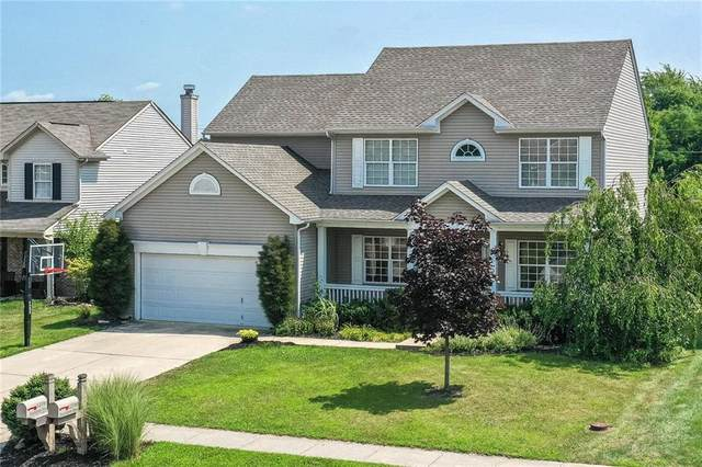 12761 Touchdown Dr, Fishers, IN 46037 (MLS #21801882) :: The Evelo Team