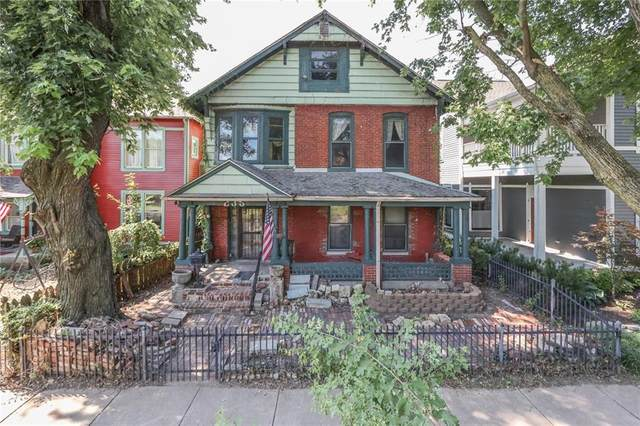 235 E 11th Street, Indianapolis, IN 46202 (MLS #21801914) :: The Indy Property Source