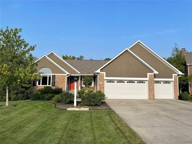 12555 Corday Court, Fishers, IN 46038 (MLS #21801939) :: The Indy Property Source